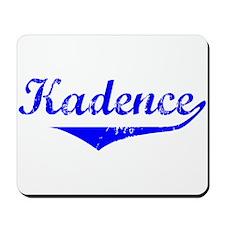 Kadence Vintage (Blue) Mousepad