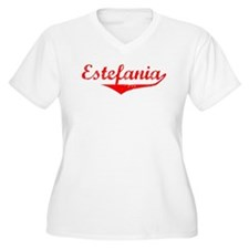Estefania Vintage (Red) T-Shirt