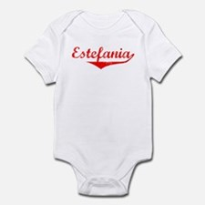 Estefania Vintage (Red) Infant Bodysuit