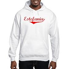 Estefania Vintage (Red) Hoodie Sweatshirt
