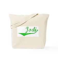 Jodi Vintage (Green) Tote Bag