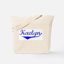 Kaelyn Vintage (Blue) Tote Bag