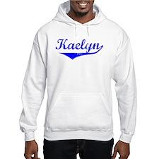 Kaelyn Vintage (Blue) Hoodie Sweatshirt