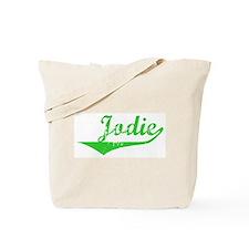 Jodie Vintage (Green) Tote Bag