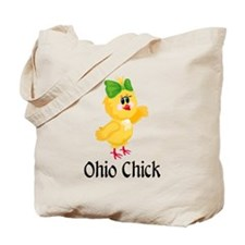 Ohio Chick Tote Bag