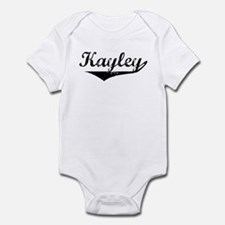 Kayley Vintage (Black) Infant Bodysuit