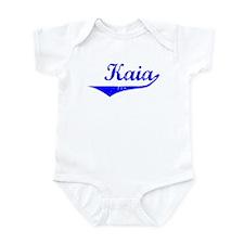 Kaia Vintage (Blue) Infant Bodysuit