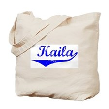 Kaila Vintage (Blue) Tote Bag