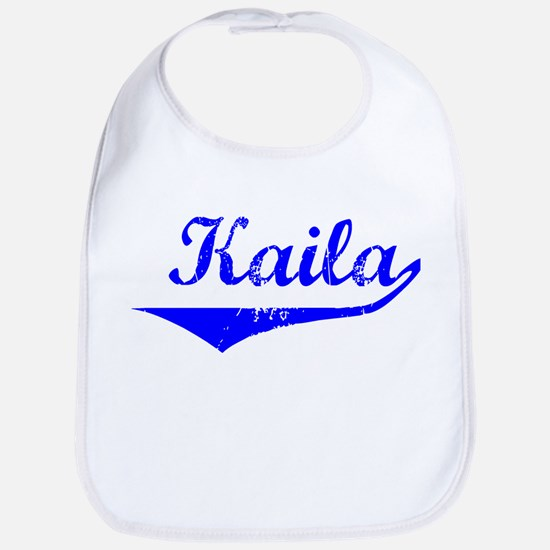 Kaila Vintage (Blue) Bib