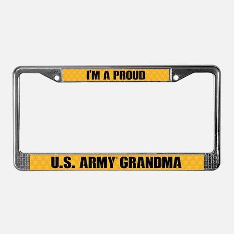 U.S. Army Grandma License Plate Frame