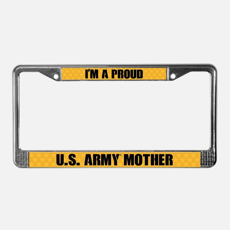 U.s. Army Mother License Plate Frame