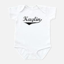 Kaylin Vintage (Black) Infant Bodysuit