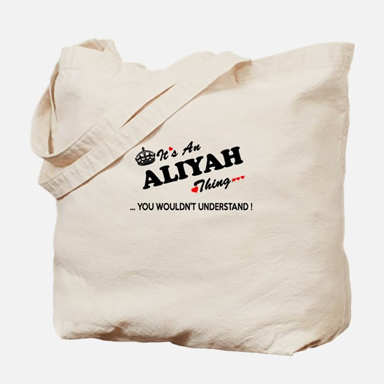 Cute Aliyah Tote Bag