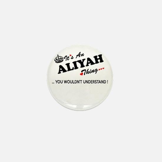 Cute Aliyah Mini Button