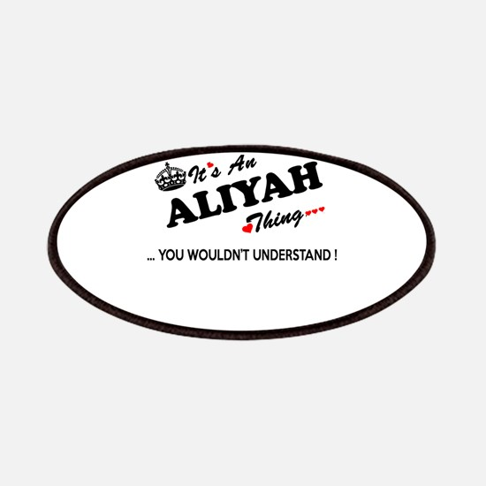 Cute Aliyah Patch