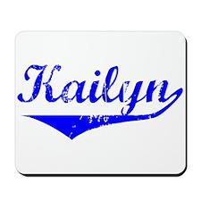 Kailyn Vintage (Blue) Mousepad