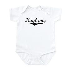 Kaylynn Vintage (Black) Infant Bodysuit