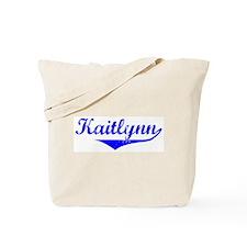 Kaitlynn Vintage (Blue) Tote Bag