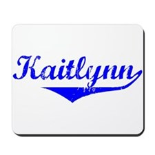 Kaitlynn Vintage (Blue) Mousepad
