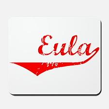 Eula Vintage (Red) Mousepad