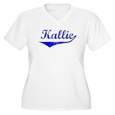 Kallie Vintage (Blue) T-Shirt