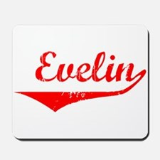 Evelin Vintage (Red) Mousepad