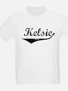 Kelsie Vintage (Black) T-Shirt