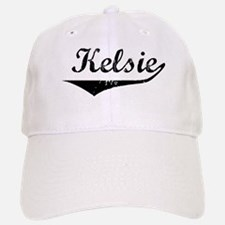 Kelsie Vintage (Black) Baseball Baseball Cap