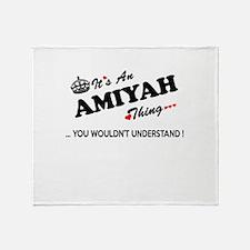 Cute Amiyah Throw Blanket