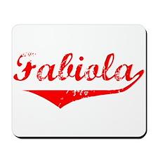 Fabiola Vintage (Red) Mousepad