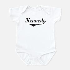 Kennedi Vintage (Black) Infant Bodysuit