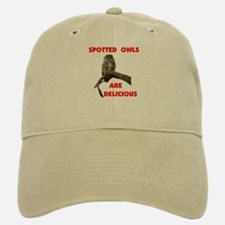 SPOTTED OWLS Baseball Baseball Cap