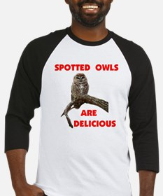 SPOTTED OWLS Baseball Jersey