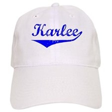 Karlee Vintage (Blue) Baseball Cap