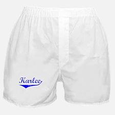 Karlee Vintage (Blue) Boxer Shorts