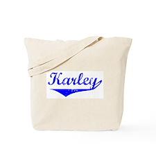 Karley Vintage (Blue) Tote Bag