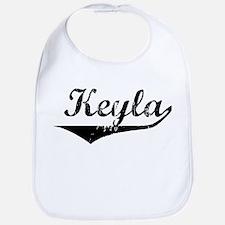 Keyla Vintage (Black) Bib