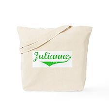 Julianne Vintage (Green) Tote Bag