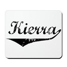 Kierra Vintage (Black) Mousepad