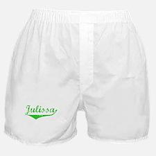 Julissa Vintage (Green) Boxer Shorts