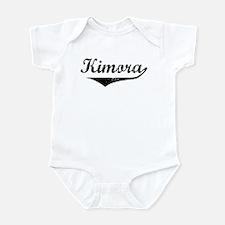 Kimora Vintage (Black) Infant Bodysuit