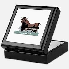 Durham NC Bull Keepsake Box