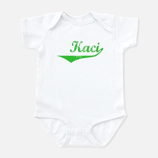 Kaci Vintage (Green) Infant Bodysuit