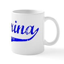 Katarina Vintage (Blue) Coffee Mug
