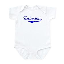 Katarina Vintage (Blue) Infant Bodysuit