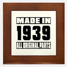 Made In 1939 Framed Tile