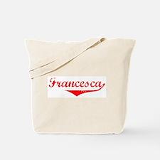 Francesca Vintage (Red) Tote Bag