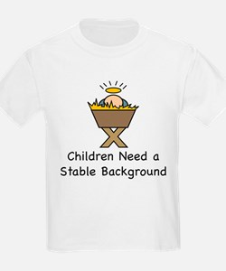 STABLE BACKGROUND T-Shirt