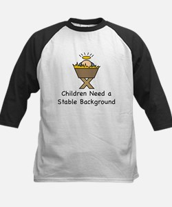 STABLE BACKGROUND Tee