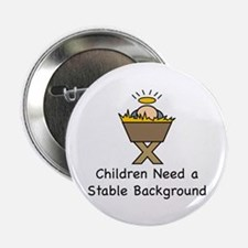 "STABLE BACKGROUND 2.25"" Button (10 pack)"